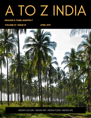 A TO Z INDIA - APRIL 2017
