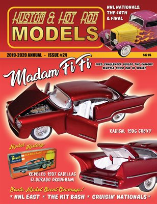 Kustom and Hot Rod Models Annual #24