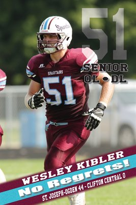 Wesley Kibler Clifton Central Game Day Print