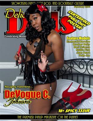 Delicious Dolls February Naughty Valentines DeVogue C Johnson