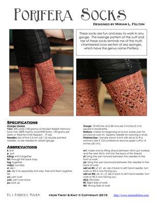 Porifera Socks