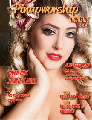 Pinupworship Magazine Issue 4 Jessie Leigh Cover