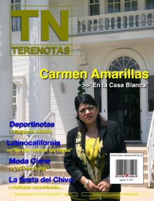 Carmen Amarillas... En la Casa Blanca