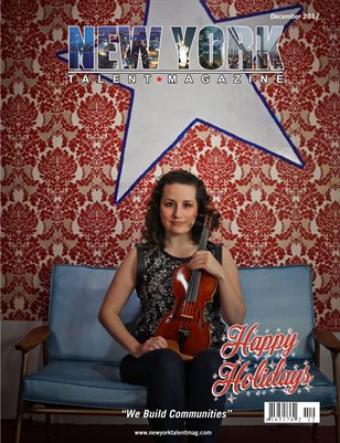 New York Talent Magazine December 2017 Edition