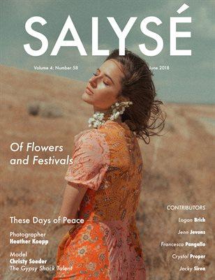 SALYSÉ Magazine | Vol 4 : No 58 | June 2018
