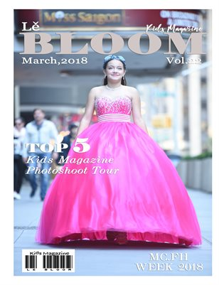 Le Bloom Kids Magazine Vol. 22 pink