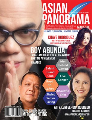 Asian Panorama Magazine November Issue 2015