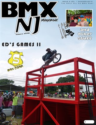 BMXNJ Magazine Issue 2 Summer 2010