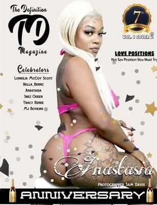 The Definition: Anastasia 7yr Anniversary  Vol1. Cover 2