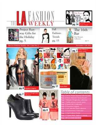 The LA Fashion Weekly Vol.1 No 2
