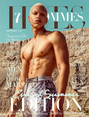 7Hues Hommes 'End of Summer Edition' N'02 - September 2019 - Cover 2