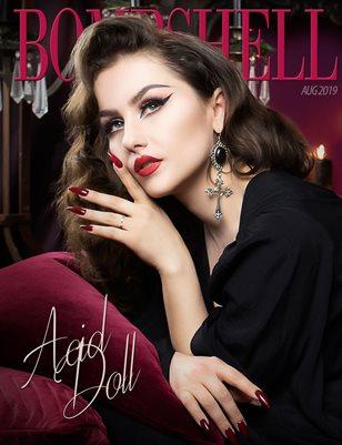 BOMBSHELL Magazine August 2019 BOOK 2 - Acid Doll Cover