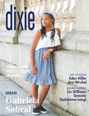 Dixie Magazine - October 2017 Vol. 1 Cover Model Christina Johnson