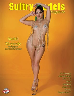 Sultry Models Magazine Lingerie Issue 11
