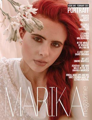 MARIKA MAGAZINE PORTRAIT (ISSUE 640 - February)