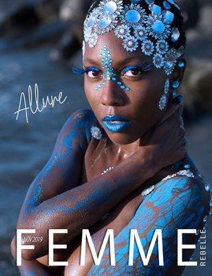 Femme Rebelle Magazine Nov 2019 - ALLURE ISSUE