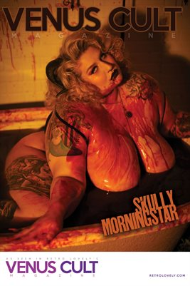 Venus Cult No.40 – Skully Morningstar Cover Poster
