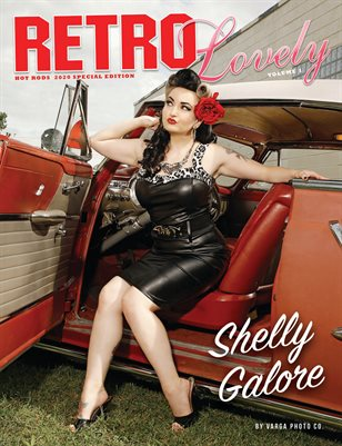 HOT RODS 2020 Vol 1 - Shelly Galore Cover