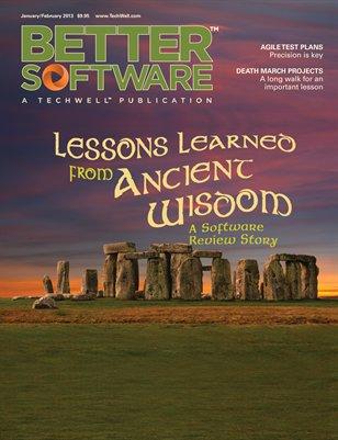 Better Software Magazine January/February 2013 (15-1)