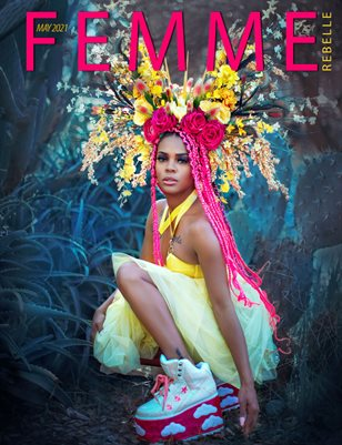 Femme Rebelle Magazine May 2021 REG ISSUE - Temira Decay Cover