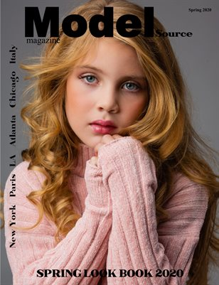 Model Source magazine SPRING LOOK BOOK 2020