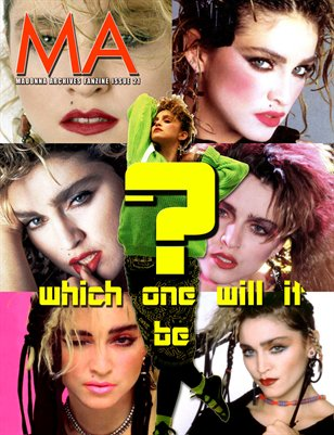 Madonna Archives Fanzine Issue 21 Surprise Special Complete Shoot