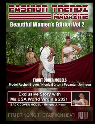Fashion Trendz Magazine Beautiful Women's Edition Vol.2