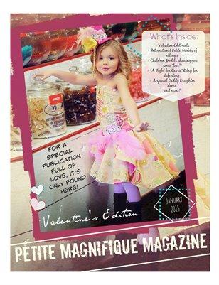 "Petite Magnifique's ""Valentine's Edition"" February 2015"