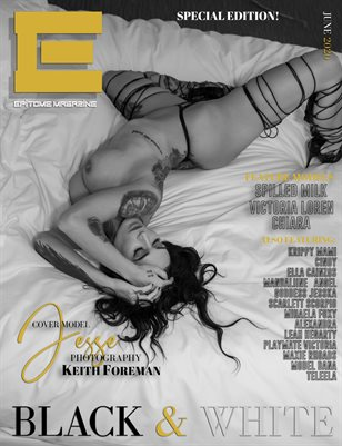 EPITOME Magazine: The Black and White Issue Cover 3