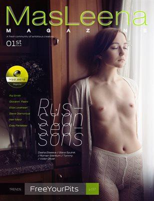 Masleena Magazine // Cover by Roman Silentium