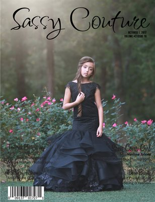 Sassy Couture Magazine | October 2017 | Volume 2 Issue 10 | Dark Beauty Issue