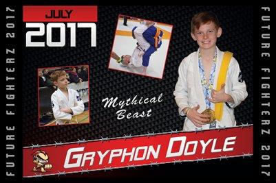 Gryphon Doyle Cal Poster 2017