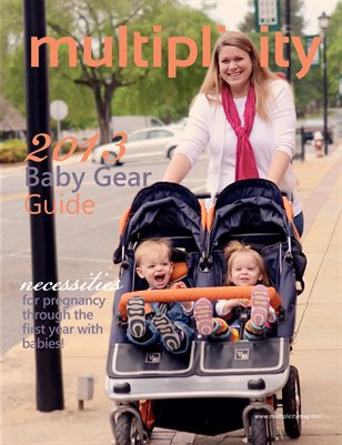 Multiplicity - Baby Gear Guide 2013