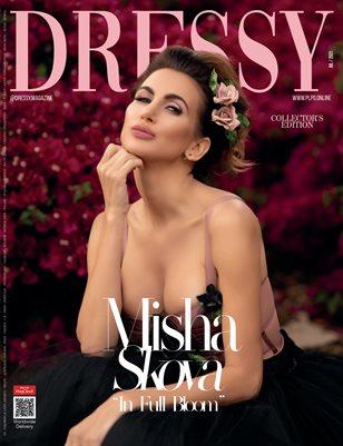 "DRESSY Magazine - MISHA SKOVA ""In Full Bloom"" - July/2021 - PLPG GLOBAL MEDIA"