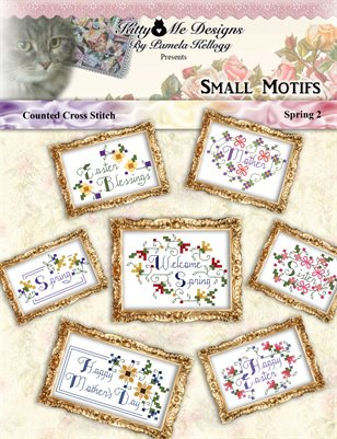 Small Cross Stitch Motifs Spring 2