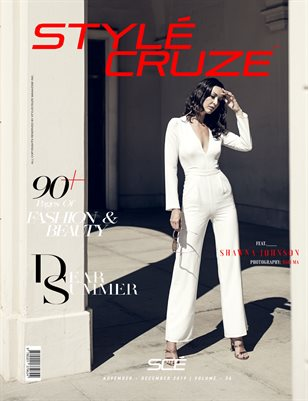 December 2019 Issue (Vol: 34) | STYLÉCRUZE Magazine