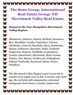 The Bean Group, International Real Estate Group: NH Merrimack Valley Real Estate