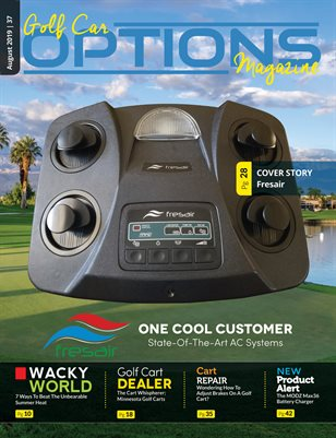 Golf Car Options Magazine - August 2019