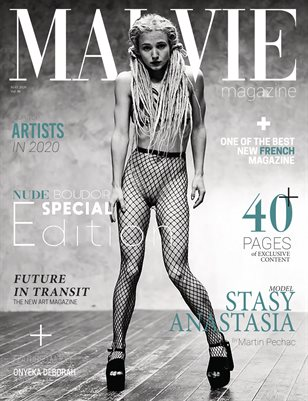 MALVIE Mag | NUDE and Boudoir Special Edition | Vol. 07 | MAY 2020