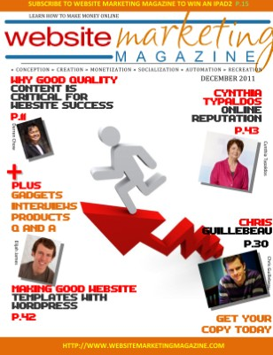 Website Marketing Magazine - December 2011 Edition - Learn How To Make Money Online