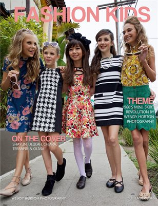 Fashion Kids Magazine | SEPTEMBER 2016 (COVER OPTION 1)