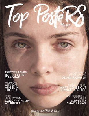 TOP POSTERS MAGAZINE - JANUARY PORTRAIT (Vol 133)