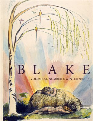 Blake/An Illustrated Quarterly vol. 51, no. 3 (winter 2017-18)