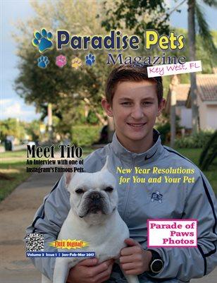 Paradise Pets Magazine, Key West, FL Vol.3 Issue 1