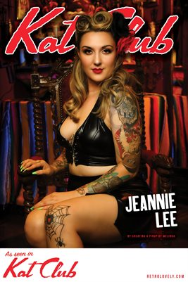 Kat Club No. 42 – Jeannie Lee Cover Poster