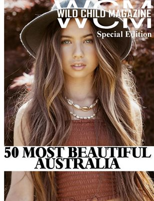 Wild Child Magazine 50 Most Beautiful Issue