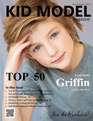 Kid Model magazine Issue 5 Volume 7 2019