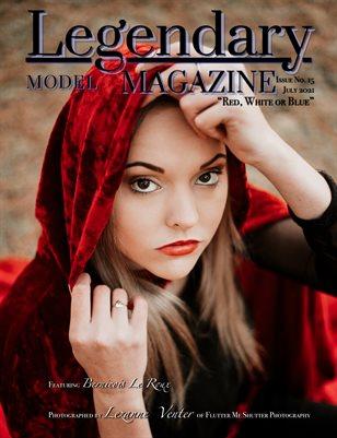Issue No. 15 - Red, White or Blue - Legendary Model Magazine