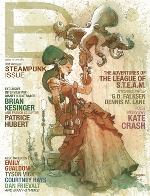 Dark Beauty Magazine ISSUE 19 - Steampunk '13