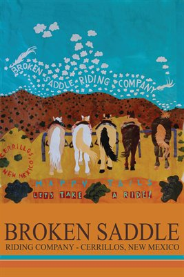 Broken Saddle Riding Company Poster